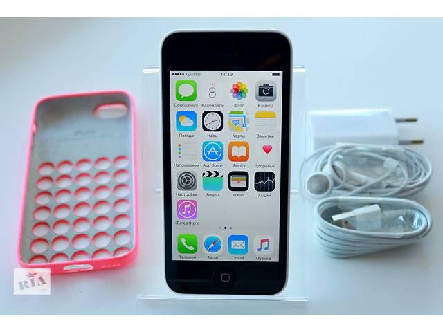 бу Оригинальный Apple iPhone 5C 16GB Белый Неверлок / White Newerlock в Кременчуге