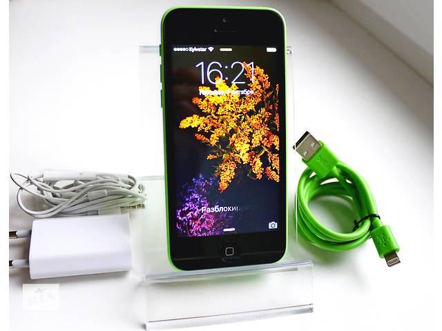 бу Оригинальный Apple iPhone 5C 16GB Зеленый Неверлок / Green Newerlock в Кременчуге