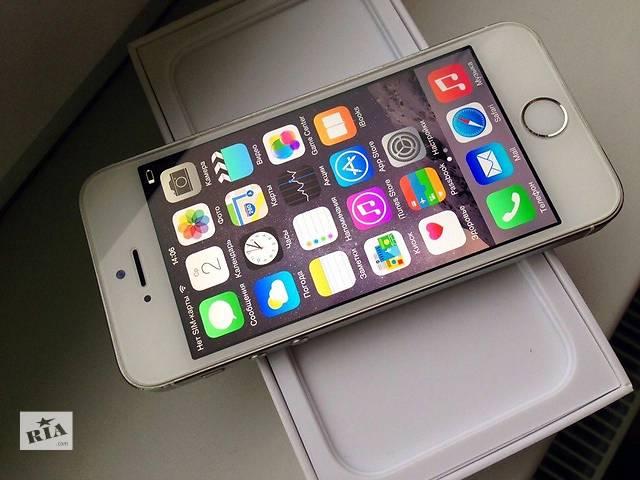 продам Оригинальный Apple iPhone 5s Silver 16Gb Neverlock! бу в Киеве