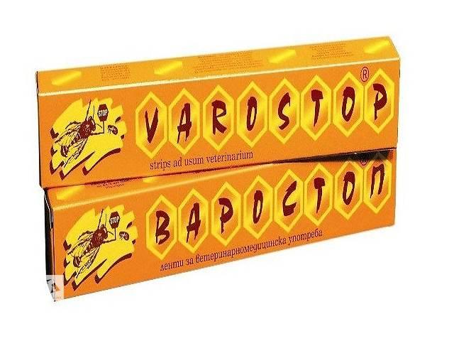 купить бу ВАРОСТОП-найкращий захист бджіл від кліща Варроа (уп.-10 смужок) (вироблено в Болгарії)-термін придатності до 04.2022 в Броварах
