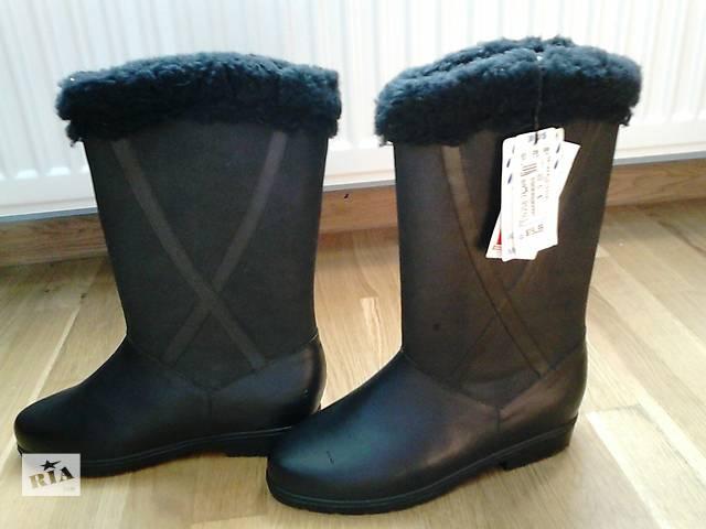 купить бу продам дитячі теплі чоботи- гумаки в Івано-Франківську 9669ea0c65a8a