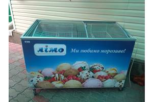 б/у Лари морозильные