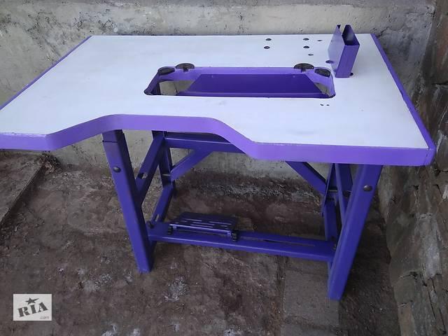 продам Стіл для промислової швейної машинки. бу в Люботині