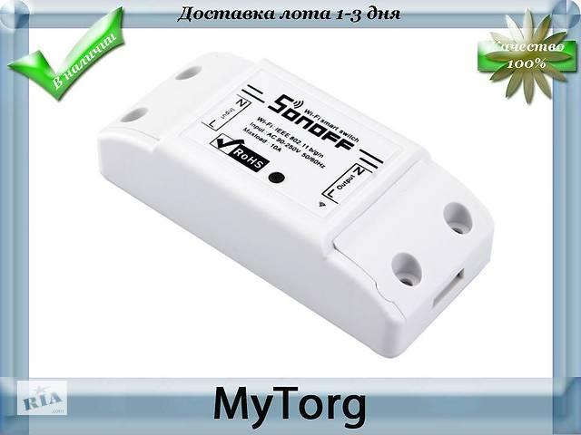 9e82da8ea5e3 Wi-Fi смарт переключатель Sonoff 10А для умного дома