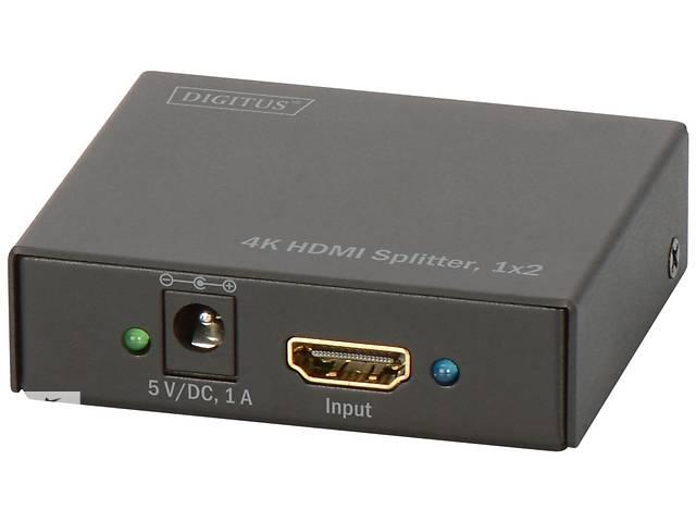 бу Сплиттер DIGITUS HDMI Splitter (In*1 Out*2) 4K (DS-46304) в Киеве