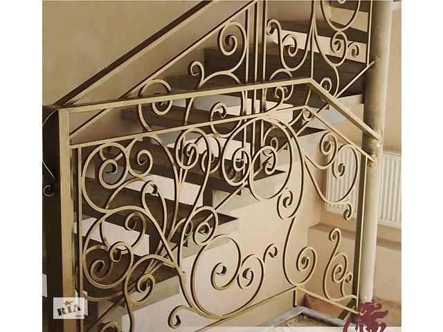 купить бу Кованые перила на лестницу в Харькове