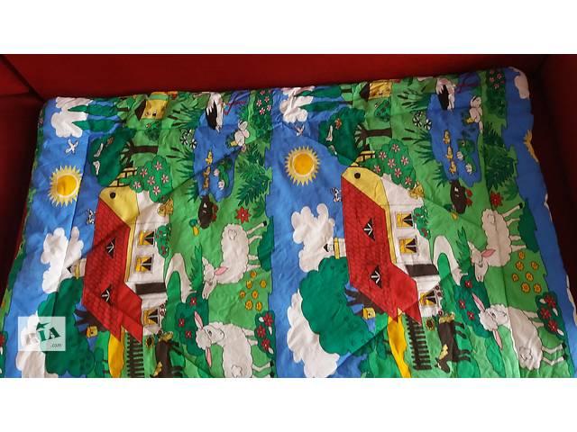 продам Отличное детское одеяло 125*96 см + подушка бу в Киеве