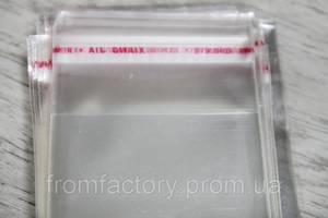 Пакеты Фасовочные полиэтиленовые без клейкой лентой (6х10 с отверстием/0.3мм) 20 шт.