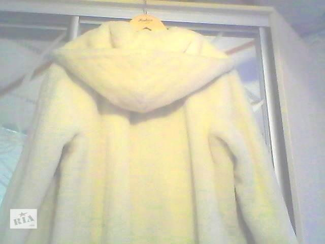 бу  Пальто-шуба из натуральной шерсти альпака. Оригинал.  в Купянске