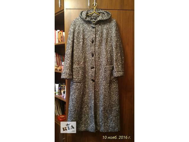 продам Пальто женское демисезонное шерстяное бу в Драбове