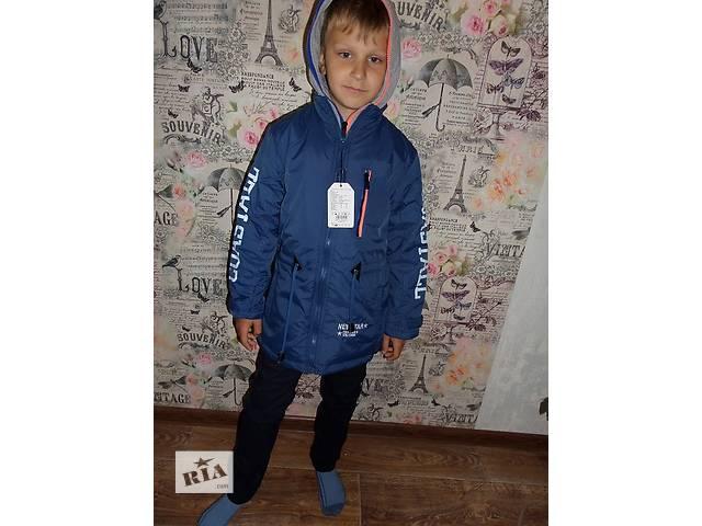 Парка демисезонная для мальчиков 122/128р Венгрия- объявление о продаже  в Хмельницком