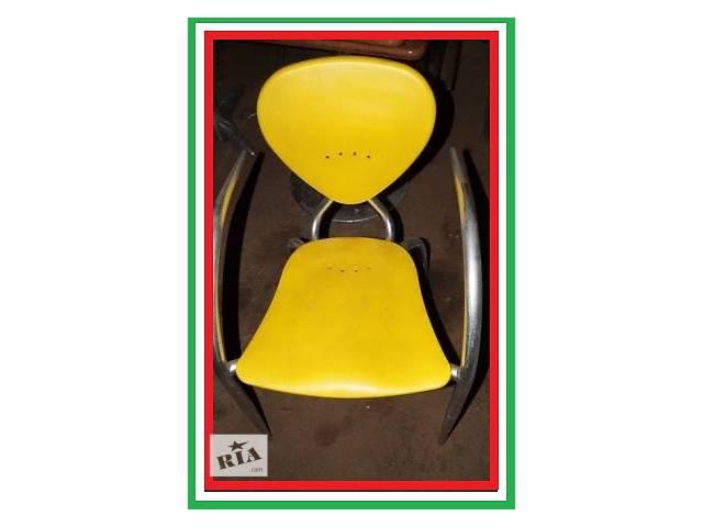Пластиковые стулья дизайнерские б/у Simphony МВ Италия алюминиевый каркас- объявление о продаже  в Киеве