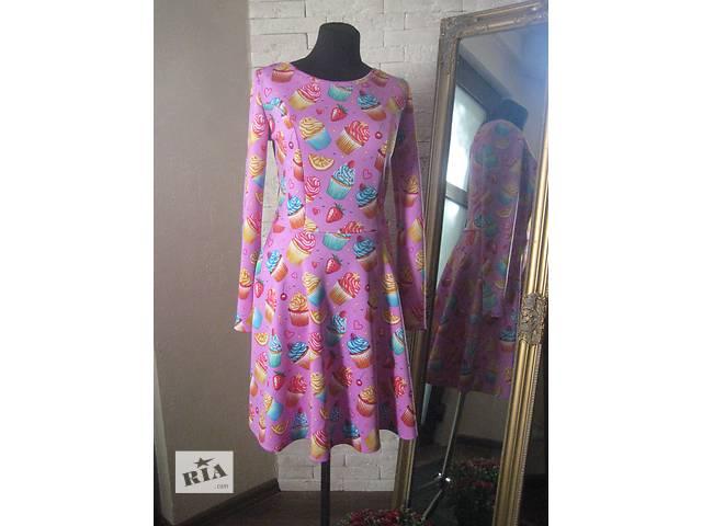 продам Платье необычное яркое розовое с пироженкой новое бу в Николаеве