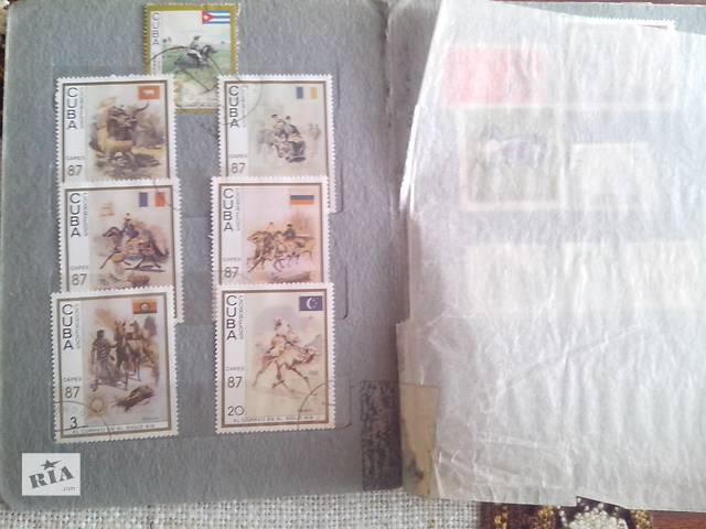 купить бу Почтовые марки альбомные в Киеве
