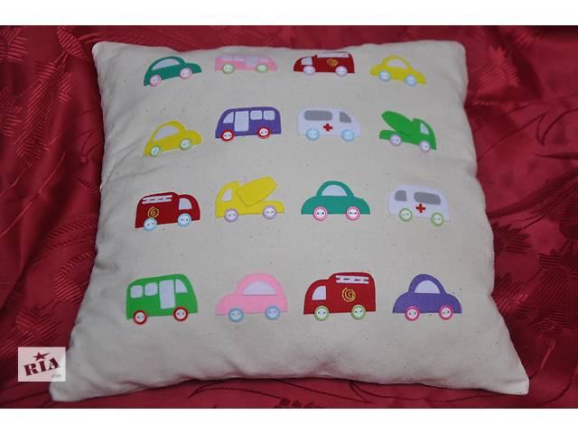 купить бу Милая подушка с машинками для малыша в Борисполе