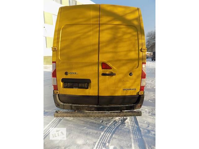 купить бу Бампер задний Renault Master  Рено Мастер Опель Мовано Opel Movano  2.3 CDTI 100 IV (2010-……) в Ровно