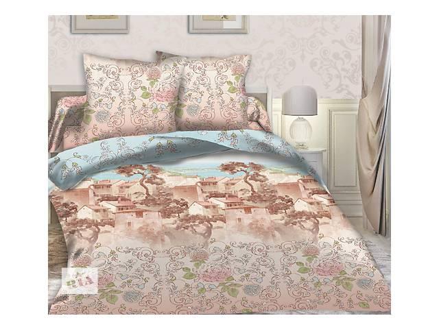 Полуторный комплект постельного белья из перкаля 100% хлопок- объявление о продаже  в Киеве