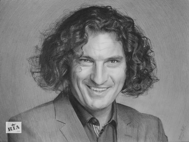 Портрет, рисунок, картина- объявление о продаже  в Сумах