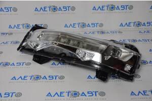 Поворотник дхо/drl левый Ford Mustang mk6 18- рест LED новый неоригинал JR3Z-13201-B разборка Алето Авто запчасти Форд