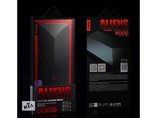 бу Powerbank Remax Alien Series Power Bank 5000mAh - RPP-20 в Днепре (Днепропетровск)