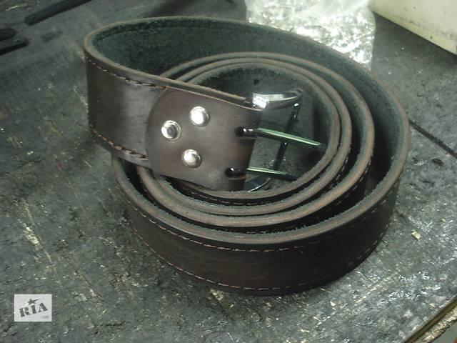 купить бу Поясной ремень коричневый.черный. кожа охранник джинсы брючный в Виннице