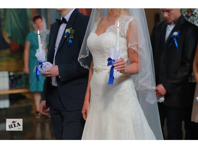 купить бу Продается дизайнерское свадебное платье в Ровно