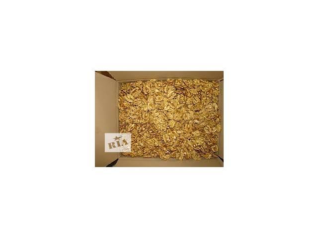 продам Продаем 20 тонн грецкого ореха очищенного внутри Украины и на экспорт. бу в Харькове