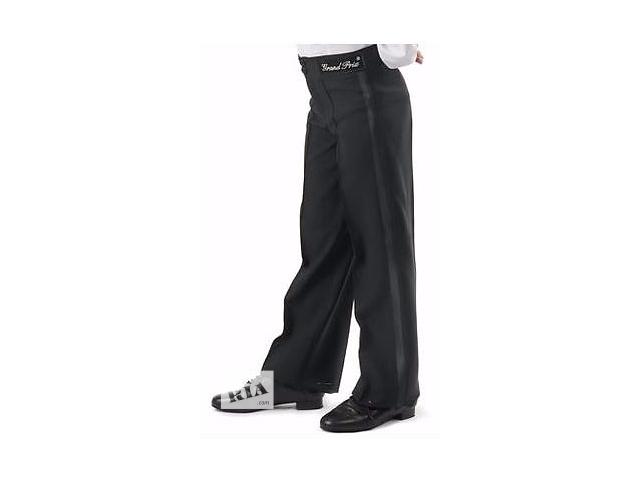 Продам брюки бальные с лампасами ТМ Grand Prix черные на мальчика- объявление о продаже  в Киеве