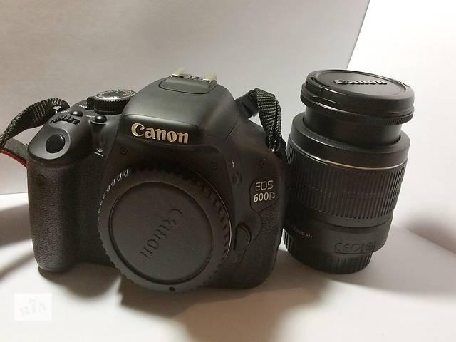 бу Продам Canon 600D kit  18-55 в Днепре (Днепропетровск)