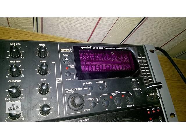 продам продам CD-проигрыватель  Gemini CDMP-6000  бу в Виннице
