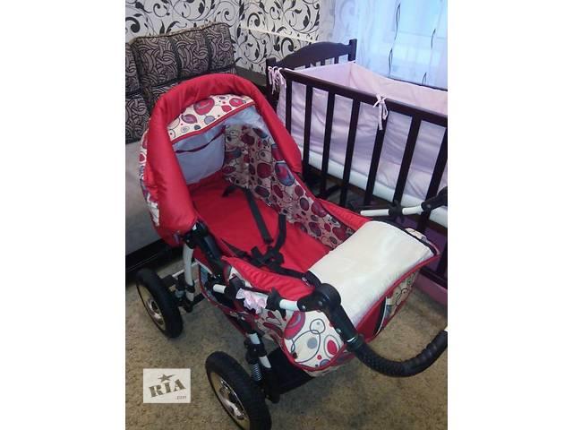 купить бу Продам детскую коляску зима- - лето для девочки в хорошем состоянии в Полтаве
