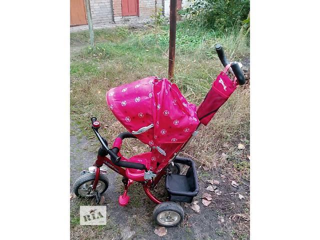 бу Продам детский велосипед с ручкой в Рубежном (Луганской обл.)