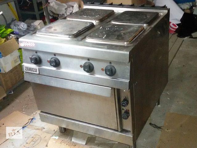 бу Продам электрическую плиту с духовкой Zanussi бу в Киеве