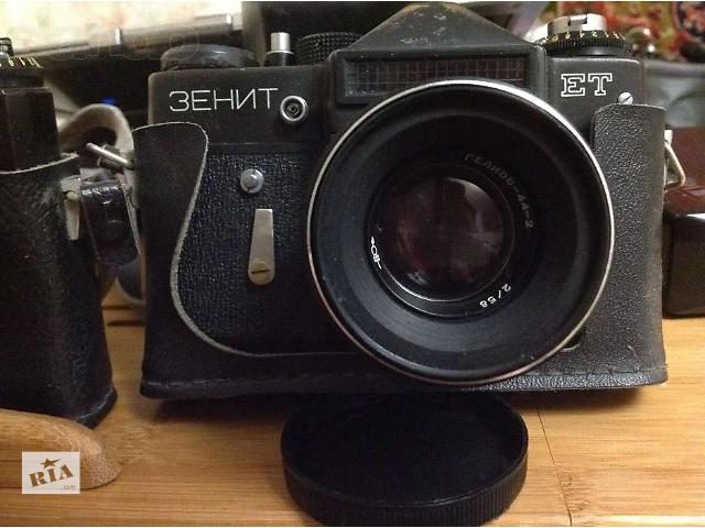 продам Продам фотоаппарат Зенит ЕТ (Zenit ET) с объективом Гелиос-44-2 бу в Одессе
