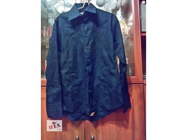 продам Продам мужскую черную рубашку с вышивкой ворот 41-42 бу в Харькове