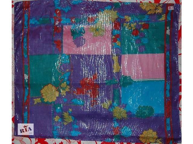 Легкий нежный большой платок-шарф приятной расцветки с люрексом, абсолютно новый! Производство Индия. Размер 108х90см- объявление о продаже  в Харькове