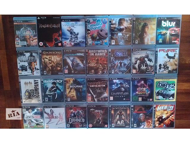 бу продам PlayStation 3 - games , игры в Запорожье
