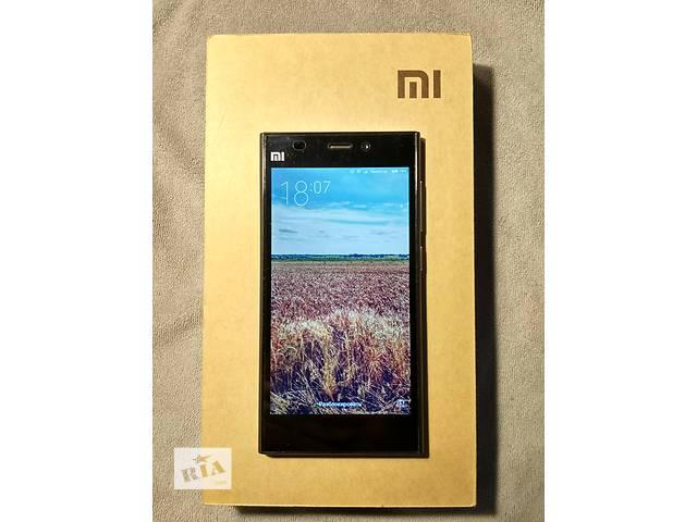 Продам Xiaomi Mi3 64Gb Black + 3 чехла к нему.- объявление о продаже  в Днепре (Днепропетровск)