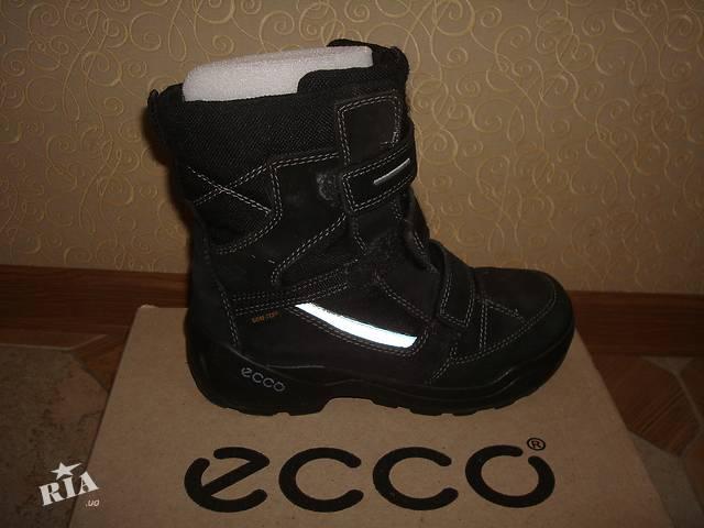 c0a7ec10c282d2 продам продам сапоги зимние для мальчика ECCO в отличнейшем состоянии бу в  Харькове