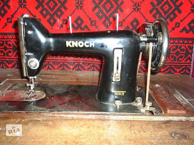 Продам старинную швейную машинку KNOCH- объявление о продаже  в Виннице