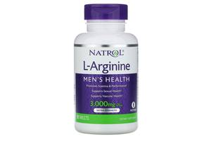 Аминокислоты Natrol Arginine 3000 - 90 таб (815858)