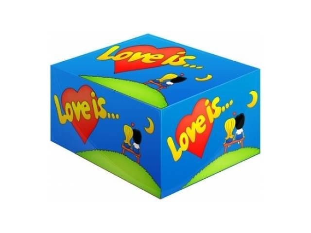 купить бу Блок жвачек Love is...Банан-Клубника в Одессе