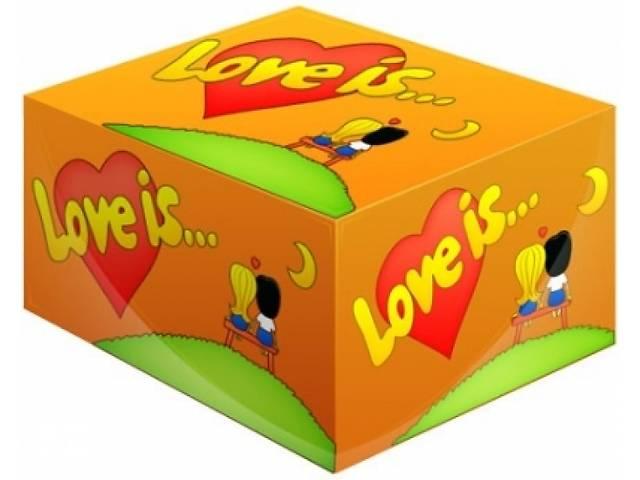 продам Блок жвачка Love is... Апельсин бу в Одессе