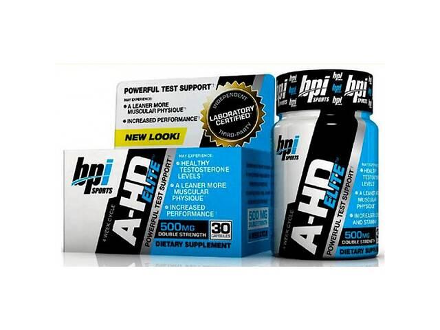 купить бу Бустер тестостерона BPI Sports A-HD Elite 30 капс (100399) в Полтаве