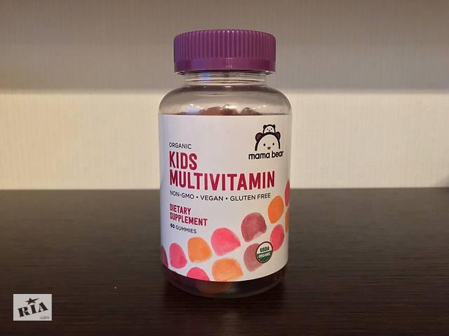 купить бу Детские желейные мультивитамины MAMA BEAR в Киеве