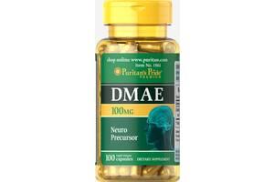 Добавка Puritans Pride Диметиламиноэтанол 100 мг 100 капсул (31046)