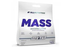 Гейнер Mass Acceleration - 7000g Strawberry (Клубника) (Повреждена упаковка) - All Nutrition
