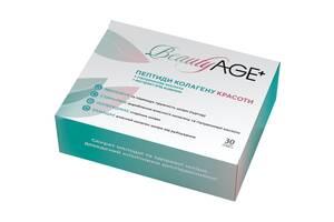 Коллаген BeautyAge, пептиды коллагена + гиалуроновая кислота, 150 г