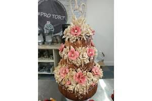 Коровай, весільний торт, Свадебный торт