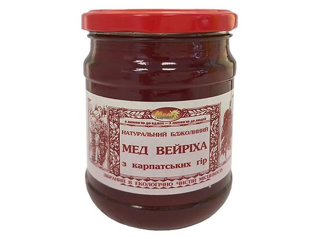 Мед бджолиний натуральний мед Карпат Вейріха 350г- объявление о продаже  в Києві